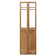 """Pair of Antique 28"""" French Double Doors"""