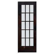 """Reclaimed 31"""" Divided Light French Door, Beveled Glass"""