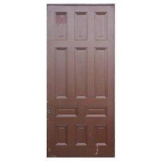 Substantial Salvaged Antique 4' Pocket Door