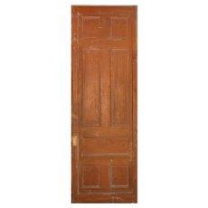 Substantial Reclaimed Antique 3' Pocket Door, Oak