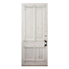 "Salvaged Antique 34"" Eastlake Door, Late 19th Century"