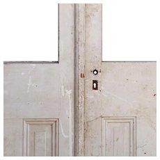 "Reclaimed 48"" Arched Door Pair"