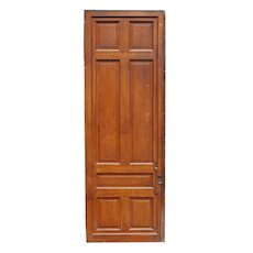"""Substantial Salvaged Antique 3' by 8'8"""" Sliding Door"""