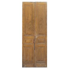 Salvaged Door Pair from France, 19th Century