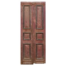 Reclaimed Antique Door Pair from France, 19th Century