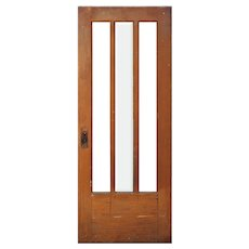 """Reclaimed 32"""" Antique Oak Door"""