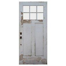 """Reclaimed 36"""" Arts and Crafts Door"""