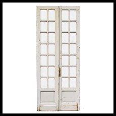 "Old Pair of Antique 44"" Doors"
