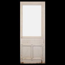"Salvaged 32"" Farmhouse Door, Late 19th Century"