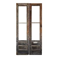"Reclaimed Pair of Antique 59"" Doors"