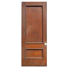 """Reclaimed 38"""" Solid Oak Door"""