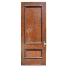 """Salvaged 38"""" Solid Oak Door"""