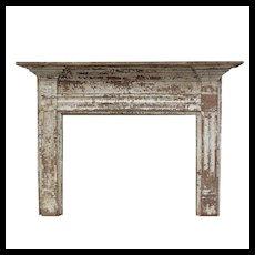 Antique Federal Fireplace Mantel, c. 1822