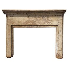 Old Federal Fireplace Mantel, c. 1822