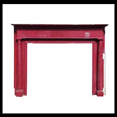 Substantial Antique Fireplace Mantel