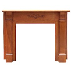 Antique Fireplace Mantel, c. 1890