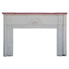 Salvaged Antique Federal Fireplace Mantel, c.1820s
