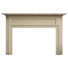 Salvaged Antique Fireplace Mantel, Late 1800's