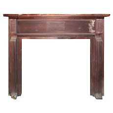 Reclaimed Antique Fireplace Mantel, c. 1910
