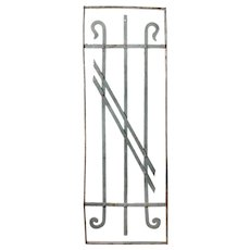 Antique Wrought Iron Gate, Late 1800's