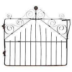 Antique Wrought Iron Gate, Boyer-Radford Mfg Co.