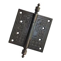 "Antique Decorative Eastlake 4.5"" Hinge"
