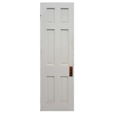"""Reclaimed 24"""" Six-Panel Solid Wood Door"""