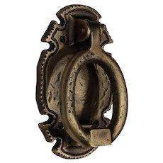 Antique Hammered Bronze Door Knocker