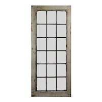 Antique American Leaded Glass Window