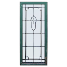 Antique Leaded and Beveled Glass Windows