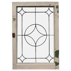 Antique American Leaded Glass Windows