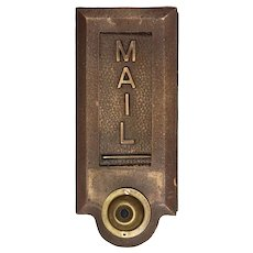 Vertical Letter Slot, Antique Hardware