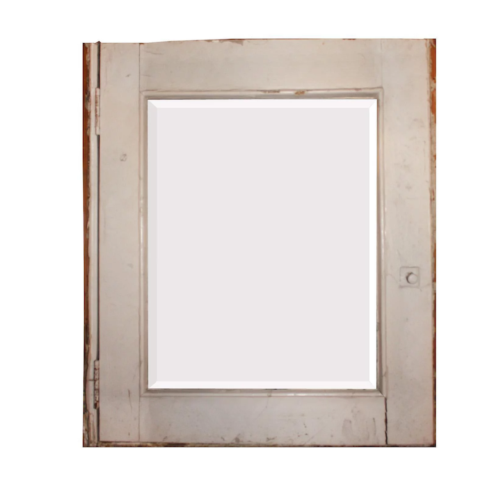 wholesale dealer 41c46 24154 Salvaged Bathroom Medicine Cabinet with Beveled Mirror