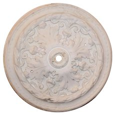 Antique Ceiling Medallion, Early 1900's