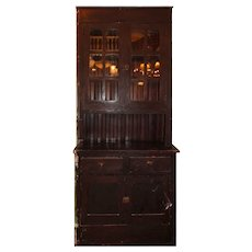 Antique Butler's Pantry Cabinet