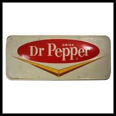 """Vintage """"Drink Dr. Pepper"""" Sign, c. 1943"""