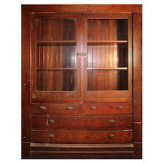 Antique Butler's Pantry Cabinet, Early 1900's