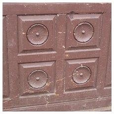 Reclaimed Antique Eastlake Wood Panel