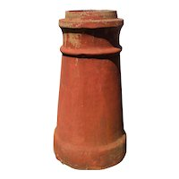 Reclaimed Terra Cotta Chimney Pot