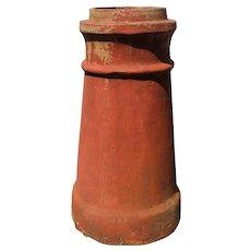 Reclaimed Terra Cotta Chimney Pot
