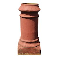 Salvaged Terra Cotta Chimney Pot, Early 1900's
