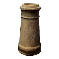 Antique Terra Cotta Chimney Pot, Early 1900's