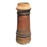 Salvaged Terra Cotta Chimney Pot