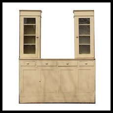 Large Antique Butler's Pantry Cabinet, Early 1900's