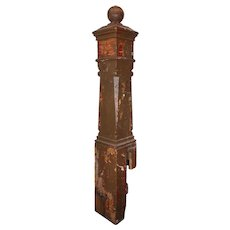 Substantial Antique Newel Post, Early 1900s