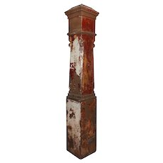 Large Antique Newel Post, Early 1900s