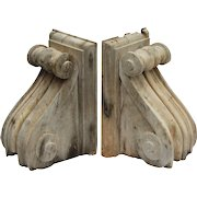 Reclaimed Corbels with Stripped Finish, c. 1880's