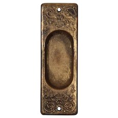 Antique Pocket Door Plates, c. 1900
