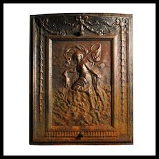 Antique Neoclassical Figural Summer Cover, 19th Century