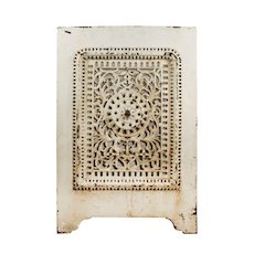 Antique Cast Iron Summer Cover, Early 1900s